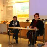 Anita Jonsson och Meeri Wassberg 160311