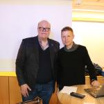 Ivar Scotte och Thomas Sandell 160311